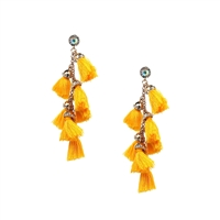 Jewelry Collection Capri Tassel Statment Earrings