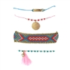 Boho Love Charm, Beaded & Friendship Bracelets Set of 4