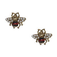 Be Embellished Queen Bee Stud Earrings