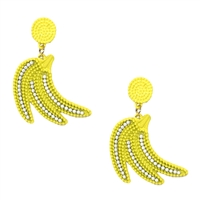Go Banana's Banana Bunch Drop Earrings