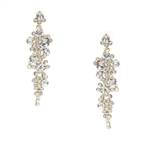 Jewelry Collection Dovima Crystal Drop Earrings