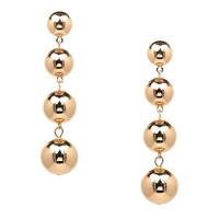 Zeno Sphere 4 Ball Drop Earrings