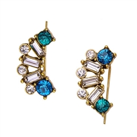 Parker Crystal Crawler Earrings