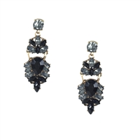 Jewelry Collection Nyx Crystal Drop Earrings
