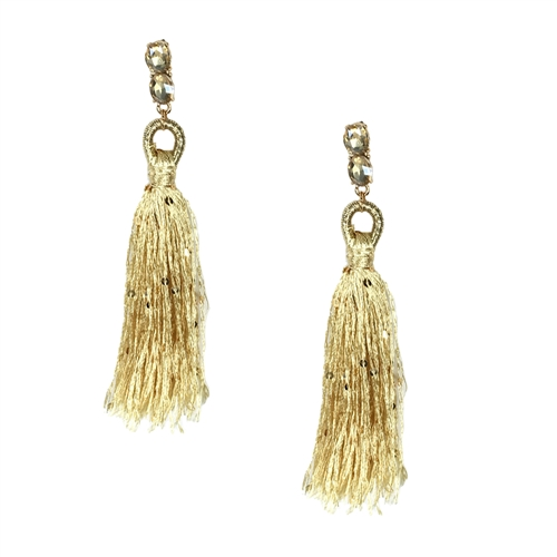 Jewelry Collection Sophia Elegant Tassel Drop Earrings
