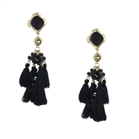 Jewelry Collection Elettra Tassel Chandelier Drop Earrings