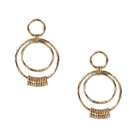 Jewelry Collection Linked Hoop Drop Earring