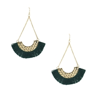 Peri Tassel Chandelier Earrings
