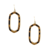 Jewelry Collection Rie Resin Shell Drop Earrings
