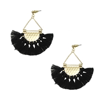 Jewelry Collection Lucia Tassel Chandelier Earrings
