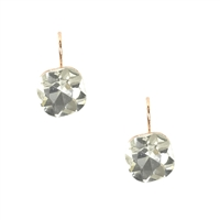 Jewelry Collection Simplicity Facet Asymmetrical Square Drop Earrings