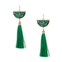 Jewelry Collection Gypsie Tassel Drop Earrings