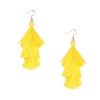 Jewelry Collection Cha Cha Tassel Drop Earrings