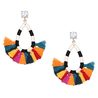 Jewelry Collection Oia Brights Tassel Drop Earrings