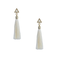 Jewelry Collection Iso Geo Tassel Drop Earrings