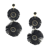 Jewelry Collection Eos Fringe Tassel Drop Earrings
