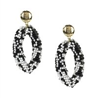 Jewelry Collection Lici Beaded Drop Earrings