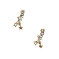 B Jewelry Collection Disco Star Crawler Earrings