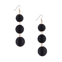 Jewelry Collection Bali Circle Drop Earrings