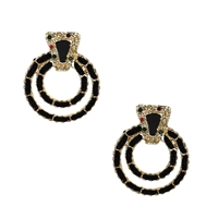 Jewelry Collection Amsu Circle Drop Earrings