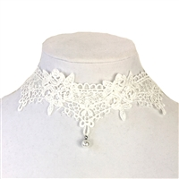 Jewelry Collection I Do Lace Choker Necklace