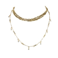 Jewelry Collection Alani Multi Layer Choker Necklace