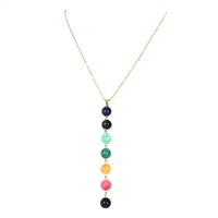 Jewelry Collection Color Spectrum Pendant Necklace