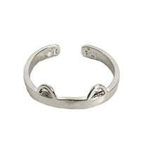 Jewelry Collection Cat Ears Stackable Band Ring