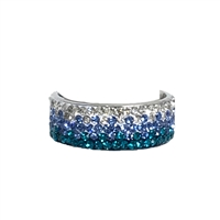Brilliant Sparklers Livie 5 Row Crystal Ring