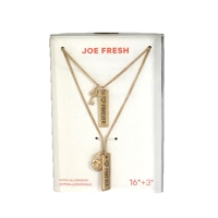 Joe Fresh Love Forever Lock & Key BFF Pendant Necklaces