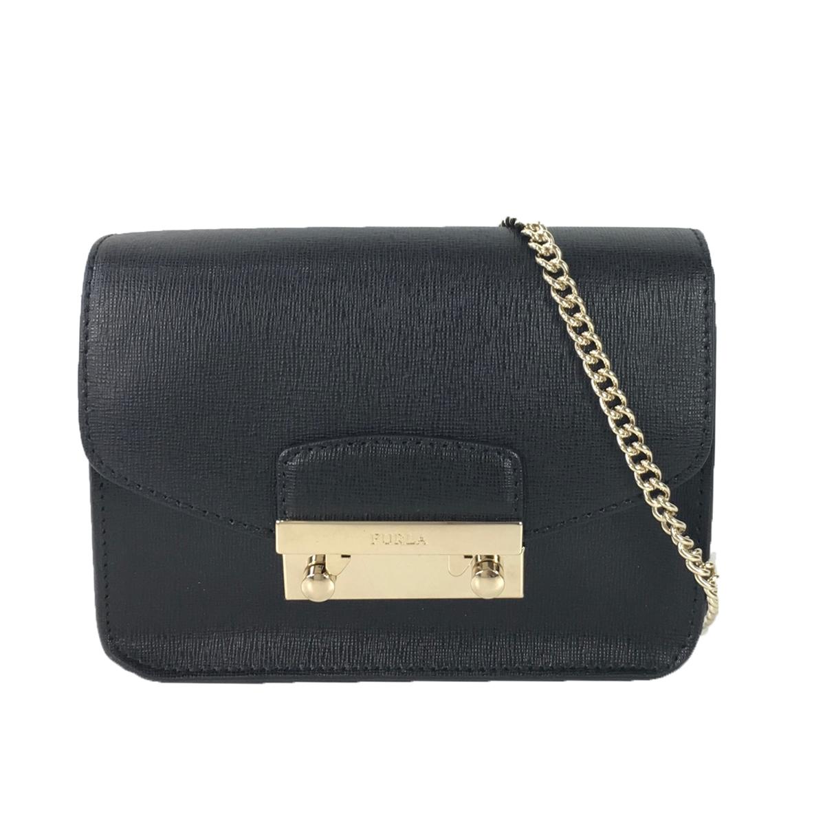 Furla Julia Saffiano Leather Mini Crossbody Bag