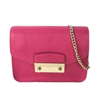 5846eecf4805 Furla Julia Saffiano Leather Mini Crossbody Bag