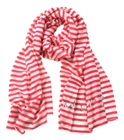 Kate Spade Painterly Stripe Oblong Scarf