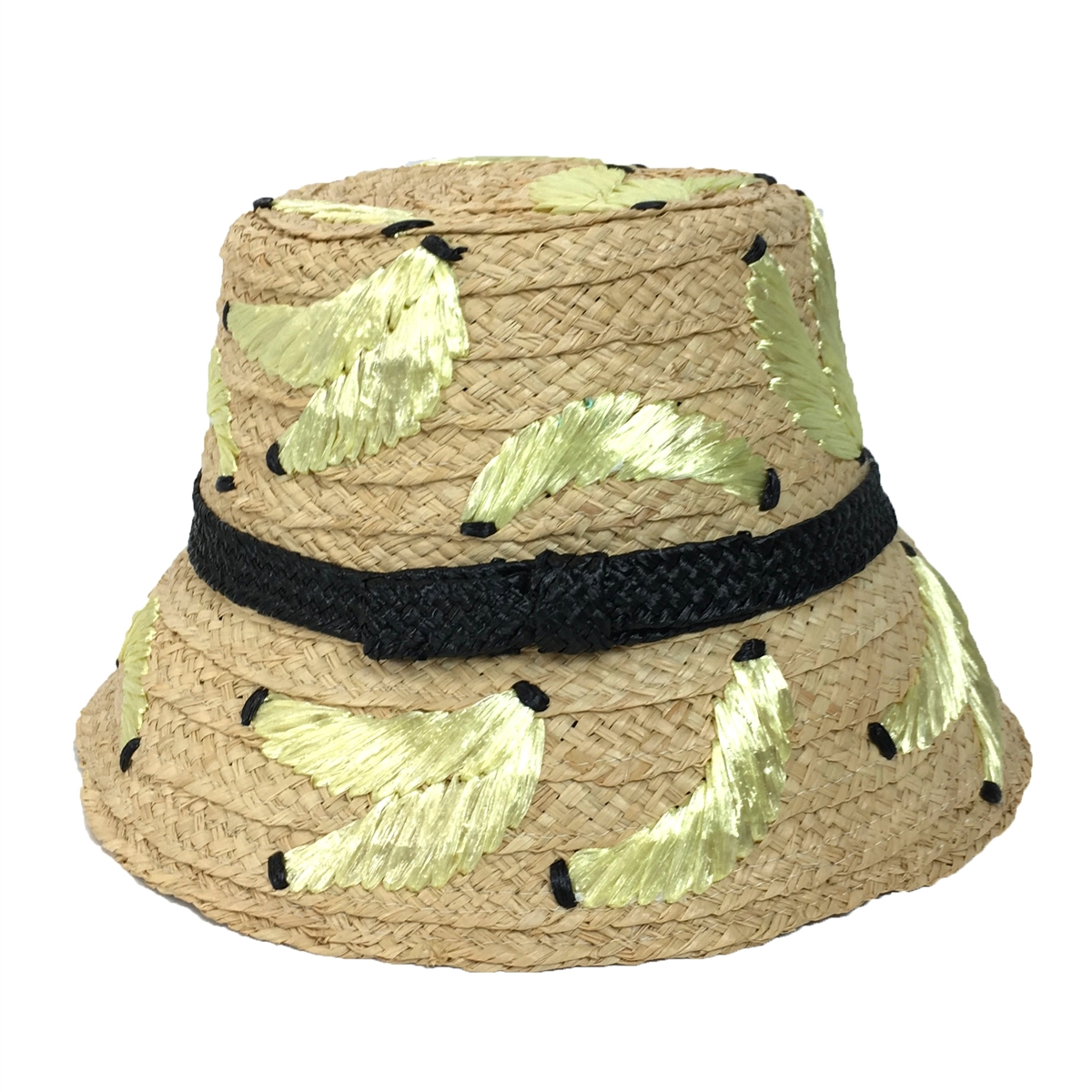 00e372796d193 Kate Spade  That s Bananas  Embroidered Sun Hat