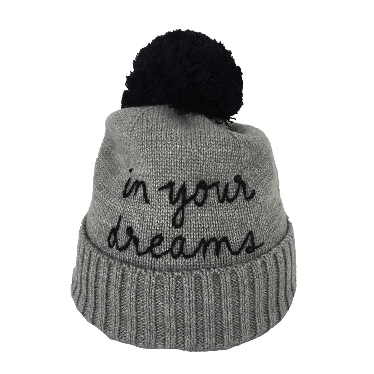 095a1623db7 Kate Spade In Your Dreams Pom Pom Beanie Hat