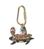 Lenora Dame Turtle Purse Charm Keychain FOB