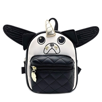 Luv Betsey Johnson Pugz Pug Angel Micro Mini Backpack