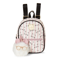 Luv Betsey Johnson Sadie Smarty Cat Micro Mini Backpack