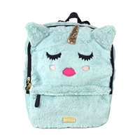 Luv Betsey Johnson Sienna Unicorn Fuzzy Backpack
