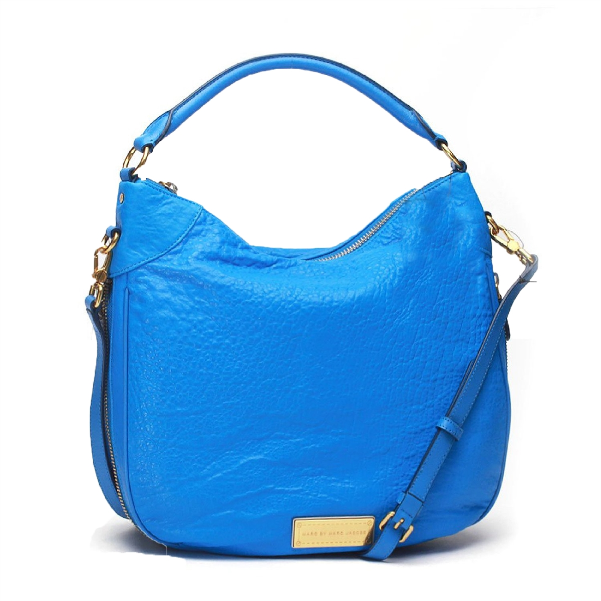 b4f06c567f8 Marc by Marc Jacobs Washed Up Billy Leather Hobo, Blueglow