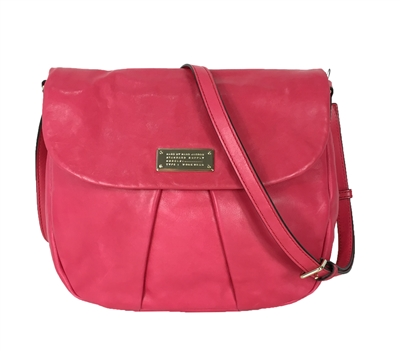 Marc Jacobs Marchive Leather Messenger Bag