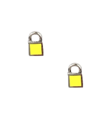Marc By Marc Jacobs 'Lock In' Padlock Mini Stud Earrings