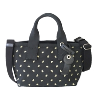 Marc Jacobs Embroidered Lemon Print Canvas Tote