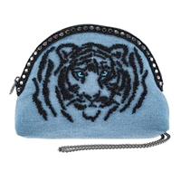 Tiger Eyes Wild Strength Travel Pouch Crossbody