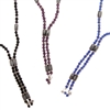 Magnetite & Facet Glass Bead Multi Wear Strand