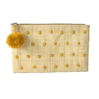 Mar Y Sol Sophia Star Polka Dot Slim Clutch