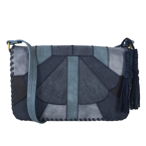 Steven By Steve Madden Maggy Patchwork Flap Bag