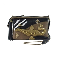 Mary Frances Disney Aladdin Magic Lamp Crossbody