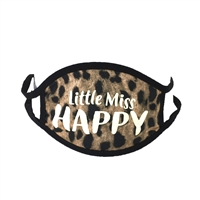 Little Miss Happy Reusable Washable Face Covering