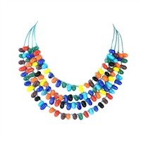 Tutti Frutti Jelly Bean Multi Strand Necklace